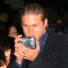 "Charlie Hunnam attends the Screening For FX's ""Sons Of Anarchy"" Season 5 at Westwood Village Theater"