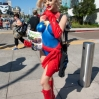 San Diego Comic-Con International 2015 - Celebrity Sightings Courtney Stodden dons Miss Marvel body paint to hand out fliers on behalf of PETA Featuring: Courtney Stodden Where: San Diego, California, United States When: 10 Jul 2015 Credit: Tony Forte/WENN