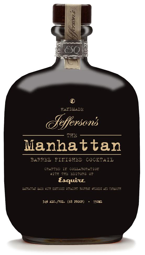 Jefferson's The Manhattan: Barrel Finished Cocktail