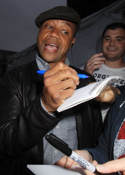 Celebrities out to root for the first home game of the NY Rangers Featuring: Cuba Gooding Jr Where: New York, New York, United States When: 09 Jun 2014 Credit: Michael Carpenter/WENN.com **Not Available for the New York Daily News**