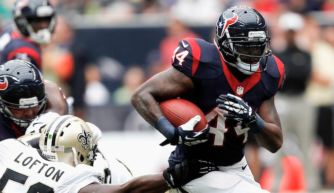 Ben Tate RB - Houston
