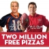 Peyton Manning with the Papa John's Guy
