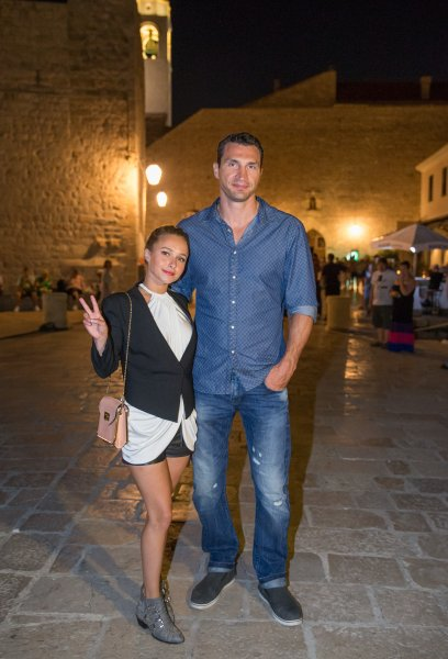 The Ukrainian boxing champion Vladimir Klitschko and Hayden Panettiere visit Dubrovnik. Featuring: Vladimir Klitschko,Hayden Panettiere Where: Dubrovnik, Croatia When: 02 Jul 2013 Credit: WENN.com **Only available for publication in the UK, USA, Germany, Austria and Switzerland**