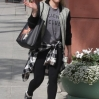 Hilary Duff spotted on her way to Anastasia Beverly Hills Salon carrying a Givenchy Antigona Leather Shopping Tote printed with a graphic of Bambi Featuring: Hilary Duff Where: Los Angeles, California, United States When: 20 Feb 2015 Credit: WENN.com