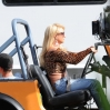Britney Spears and Iggy Azalea shoot a scene for their highly anticipated new music video 'Pretty Girls,' in Studio City Featuring: Britney Spears Where: Los Angeles, California, United States When: 09 Apr 2015 Credit: WENN.com