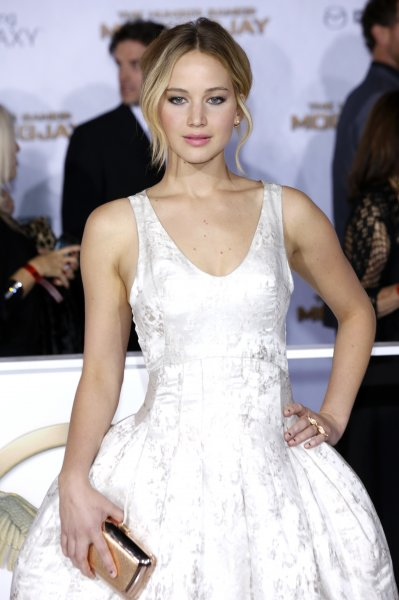 Los Angeles premiere of 'The Hunger Games: Mockingjay - Part 1' at Nokia Theatre L.A. Live Featuring: Jennifer Lawrence Where: Los Angeles, California, United States When: 18 Nov 2014 Credit: Dave Bedrosian/Future Image/WENN.com **Not available for publication in Germany, Poland, Russia, Hungary, Slovenia, Czech Republic, Serbia, Croatia, Slovakia**