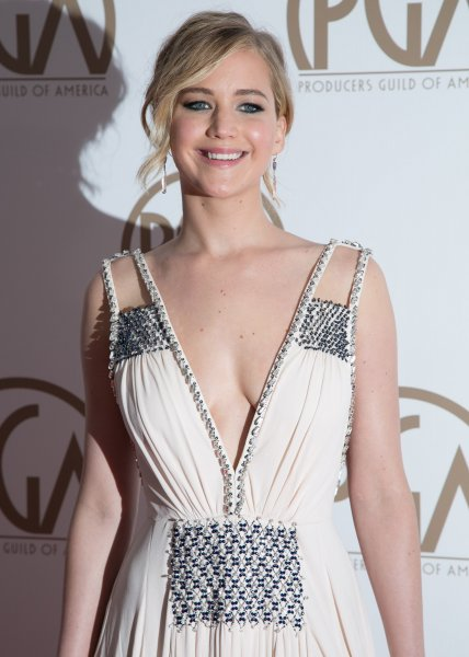 26th Annual Producers Guild Of America (PGA) Awards - Arrivals Featuring: Jennifer Lawrence Where: Los Angeles, California, United States When: 24 Jan 2015 Credit: Brian To/WENN.com