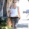 Julianne Hough leaving a gym after a workout