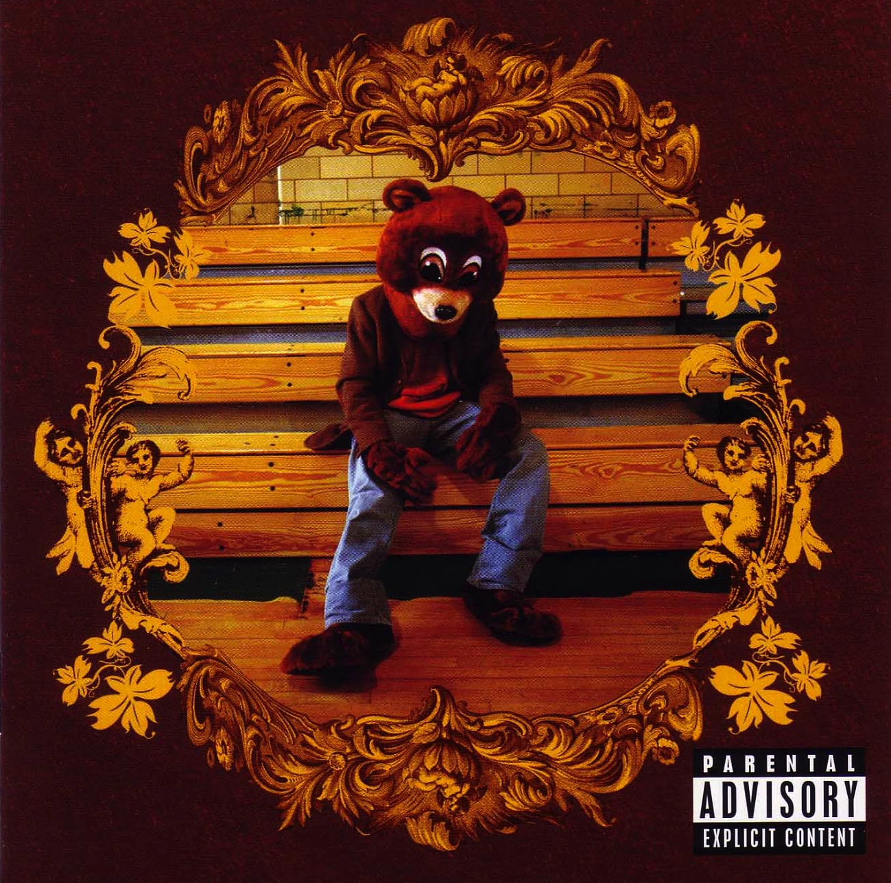 Kanye West Album Cover - The College Dropout