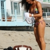 USA Deal or No Deal contestant, model and actress Katie Cleary soaking in the Winter Sun on the Malibu Beach Los Angeles, California - 01.03.12 Where: United States When: 01 Mar 2012 Credit: WENN