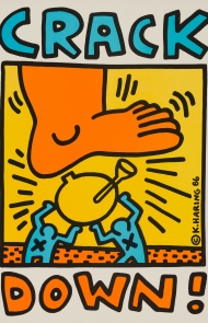 """Keith Haring: Posters"" Exhibit and Book"