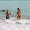 Kelly Brook and boyfriend David McIntosh relax together during their holiday in Miami where they froliced in the surf before renting out bicycles and rode along South Beach to an outdoor gym.Featuring: Kelly Brook,David McIntoshWhere: Miami, Florida, United StatesWhen: 03 Feb 2014Credit: KEYPIXX/WENN.com**Available for publication in USA. Not for publication in the rest of the world**