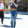 Kelly Brook shopping for two boxes of wine at a liquor store and flowers and bottled water at Trader Joe's in West Hollywood Featuring: Kelly Brook Where: Los Angeles, California, United States When: 24 Mar 2015 Credit: WENN.com