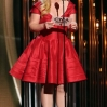 Kelly Clarkson presents Male Vocalist of the Year onstage during the 47th annual CMA awards