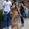 The Kardashians go apartment hunting in New York while filming an episode of their reality show