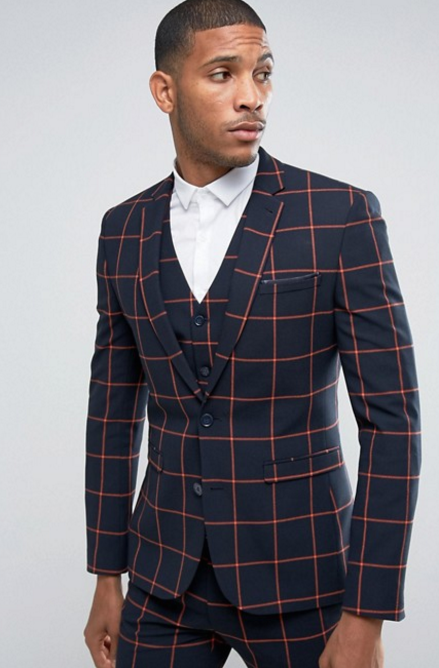 Super Skinny Suit Jacket by Asos