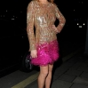 Celebs attend Chopard - party at Annabel's club in Mayfair. London. UK Featuring: Lindsay Lohan Where: London, United Kingdom When: 03 Dec 2014 Credit: WENN.com
