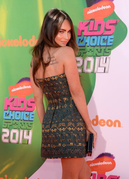 Actress Megan Fox attends Nickelodeon Kids' Choice Sports Awards 2014 at UCLA's Pauley Pavilion on July 17, 2014 in Los Angeles, California.