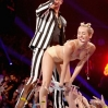 Miley Cyrus performs during the 2013 MTV Video Music Awards