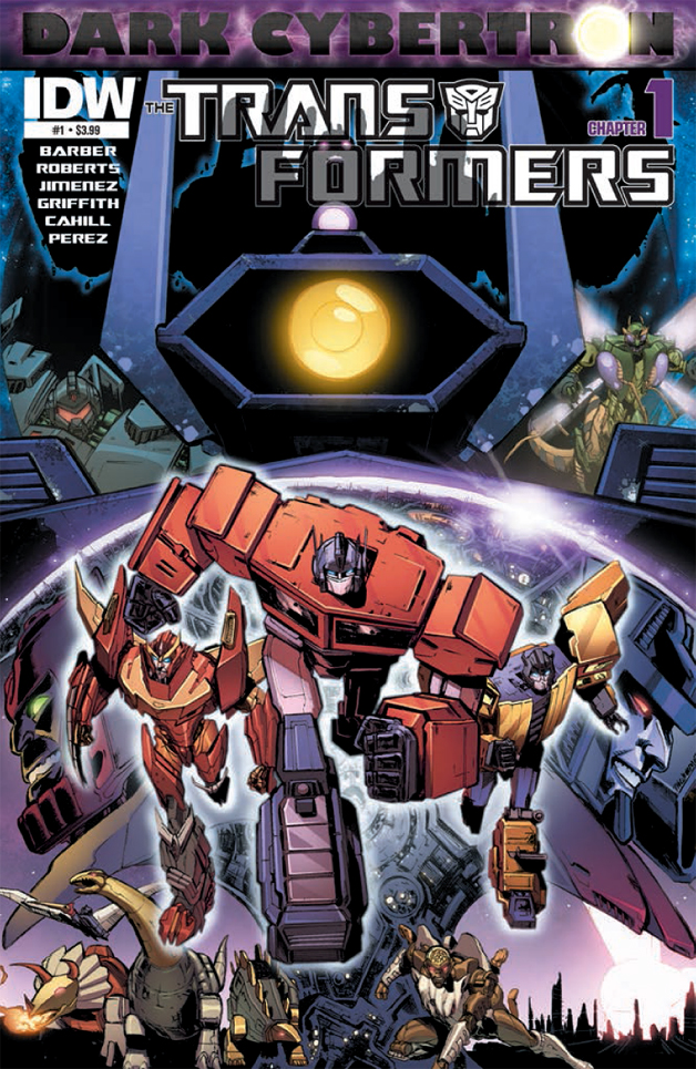 Transformers: Dark Cybertron Preview 1