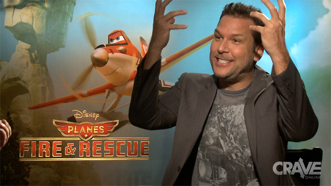 Planes: Fire & Rescue - Dane Cook's Ninja Interview