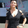 Ruby Rose attends the Lavazza marquee during Emirates Melbourne Cup Day at Flemington Racecourse on November 2, 2010