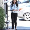 Selena Gomez eats lunch at Kabuki Japanese Restaurant in Woodland Hills with friends. Gomez, sporting a button down shirt, had a wardrobe malfunction when her shirt opened up slightly, exposing side-cleavage while heading back to her car. Featuring: Selena Gomez Where: Los Angeles, California, United States When: 14 Mar 2014 Credit: Cousart/JFXimages/WENN.com