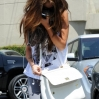 Singer Selena Gomez hides her face from photographers as she exits the Evolution Dance Studio Featuring: Selena Gomez Where: Los Angeles, CA, United States When: 15 May 2013 Credit: Cousart/JFXimages/WENN.com