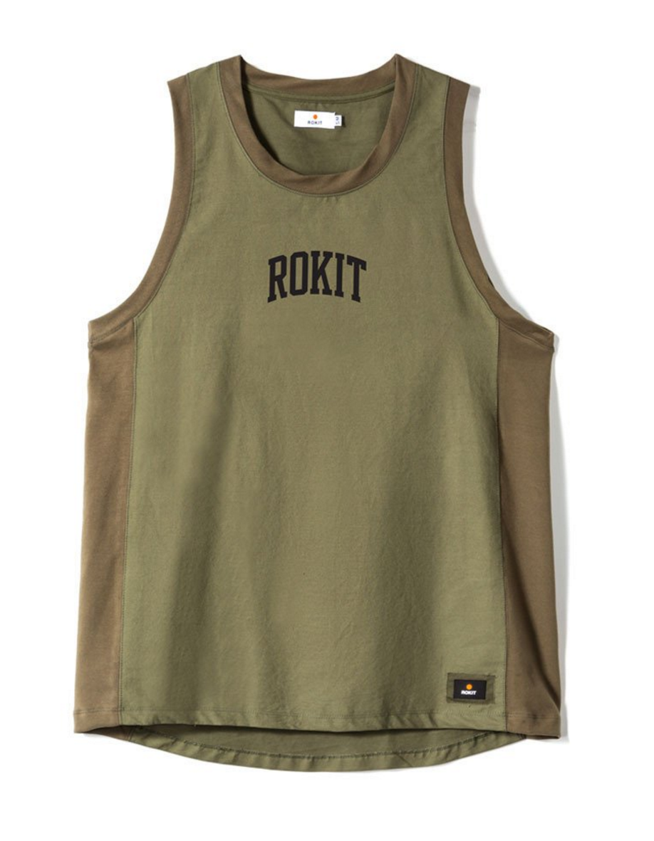 Pointman Jersey in Olive