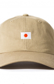 Flag Logo Cap in Khaki
