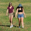 Singer Taylor Swift and BFF Lorde looks exhausted after hiking through the mountains in Beverly Hills. Featuring: Taylor Swift, Lorde Where: Beverly Hills, California, United States When: 13 Jan 2015 Credit: Cousart/JFXimages/WENN.com
