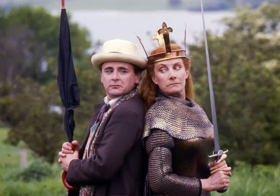 "25. Doctor Who (""Battlefield,"" Season 26, Ep. 1)"