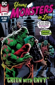 A DC Comics Anthology Book About 'Young Monsters In Love'
