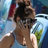 Vanessa Hudgens hides her face from the paparazzi while out and about in Studio City Featuring: Vanessa Hudgens Where: Los Angeles, California, United States When: 13 May 2013 Credit: WENN.com
