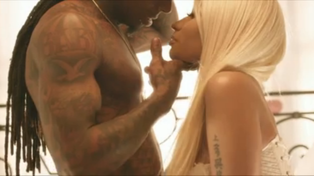 nicki minaj sex scene