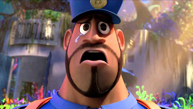 Cloudy with a Chance of Meatballs 2 Terry Crews
