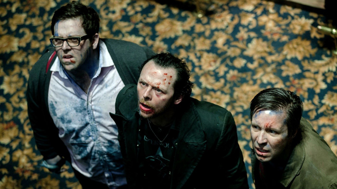 The World's End Nick Frost Simon Pegg Paddy Considine