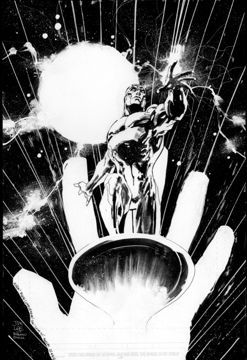 Silver Surfer by Jim Lee