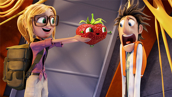 Cloudy with a Chance of Meatballs 2 Barry