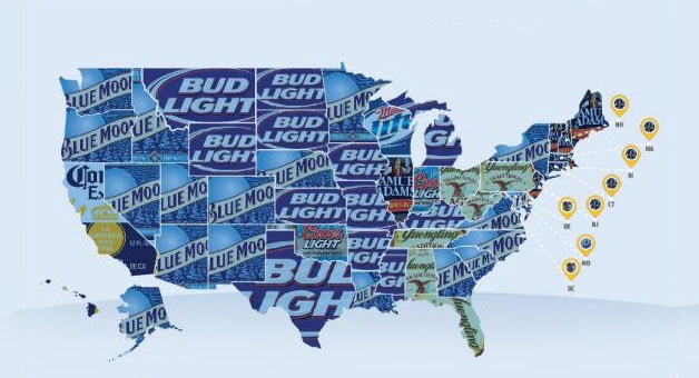 usa-favorite-beer-map