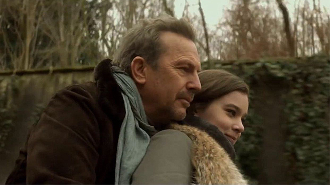 3 Days to Kill Kevin Costner Hailee Steinfeld