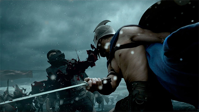300 Rise of an Empire Violence