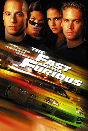Fast 1 poster