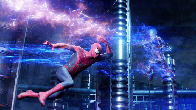 Amazing Spider-Man 2 Electro Fight