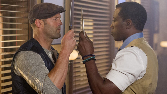 The Expendables 3 Jason Statham Wesley Snipes