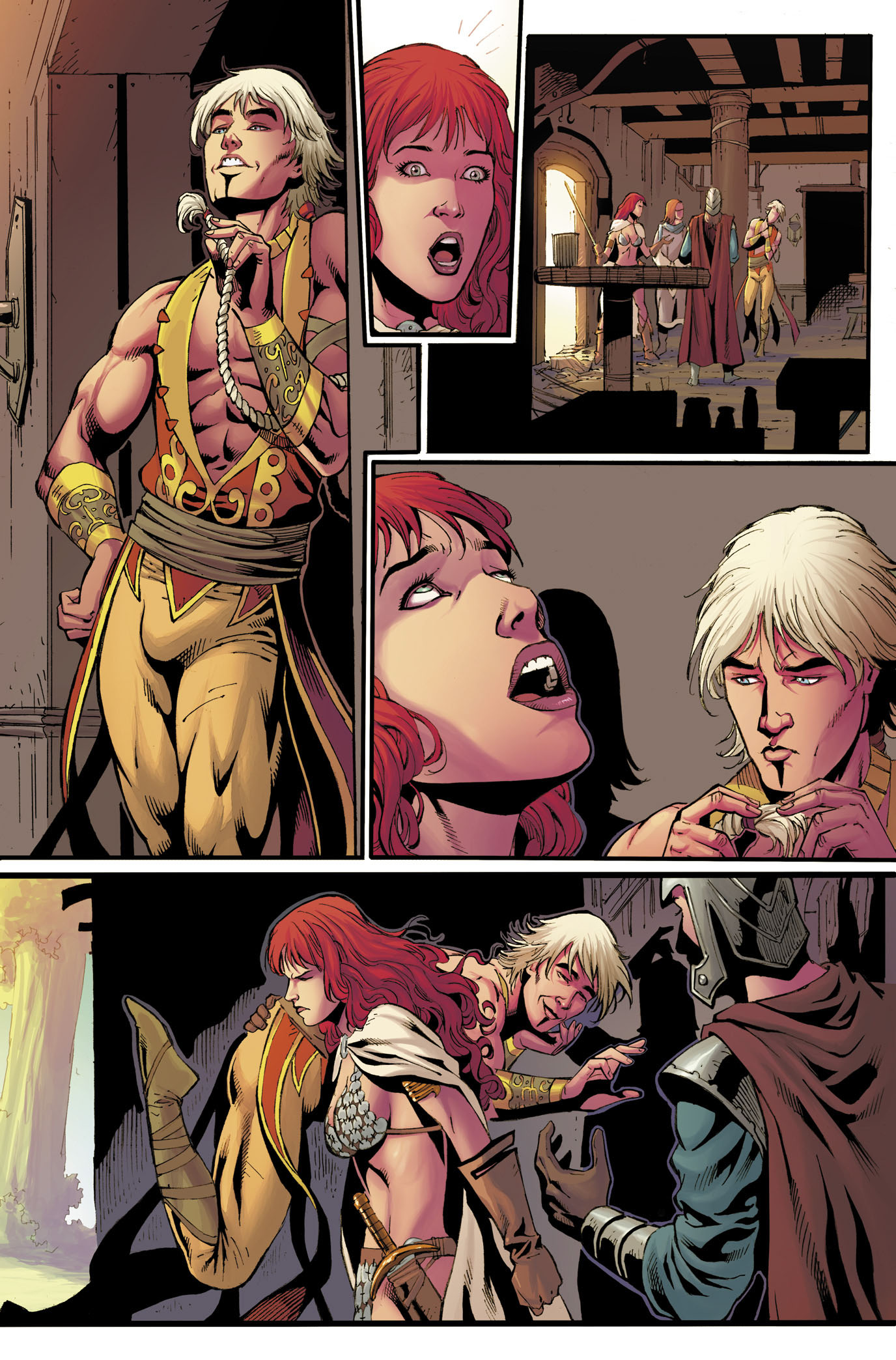 Red Sonja 12 Page 3
