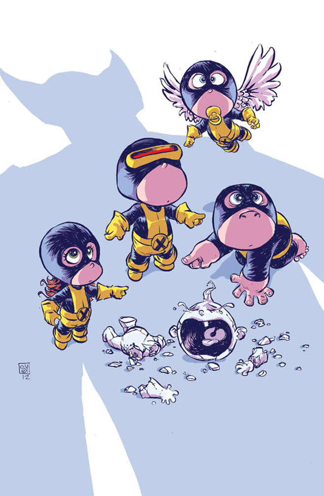 All New X-Men Baby Variant Cover