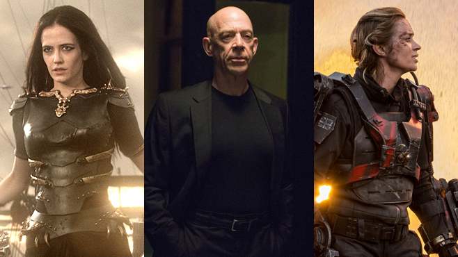 Best Actors of 2014 21 Actors Who Amazed Us Best of 2014 Eva Green Emily Blunt JK Simmons 300 Rise of an Empire Whiplash Edge of Tomorrow