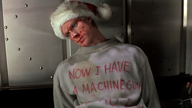Die Hard Christmas Now I Have a Machine Gun Ho Ho Ho
