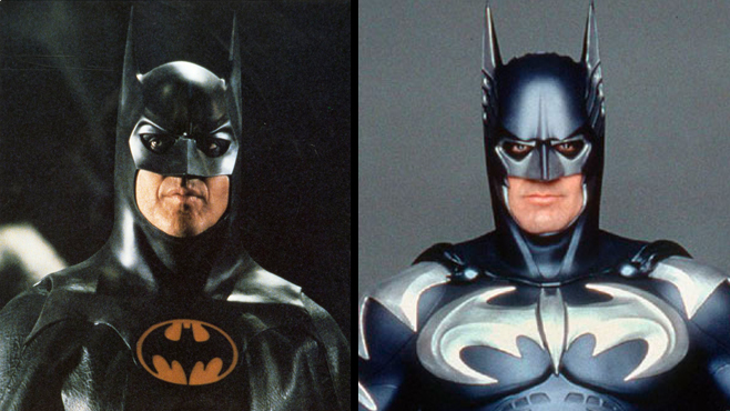 Batman Michael Keaton Batman George Clooney Batman Movies